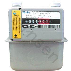 GS4w Type Household Diaphragm Wide Range Gas Meter pictures & photos