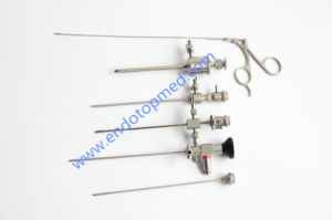 30deg 2.7mm Telescope with Operating Sheath, Trocar, Forcep and Diagnose Sheath pictures & photos