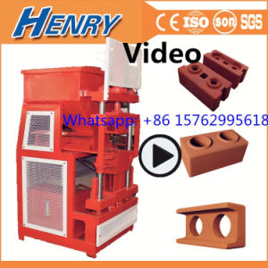 Hr2-10 Automatic Hydraulic Clay Soil Earth Interlocking Lego Brick Making Machine, Compressed Block Making Machine in Kenya, India pictures & photos