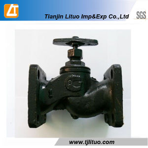 Russian Standard Cast Iron Flange Globe Valve pictures & photos