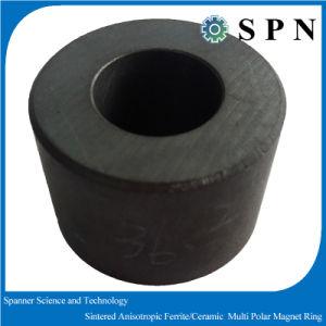 Ceramic Ferrite Sintered Multipole Ferrite Magnet Rings pictures & photos