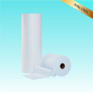 Polyester& Viscose Blend Plain Spunlace Nonwoven Fabric pictures & photos
