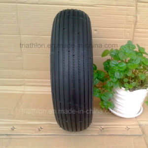 4.00-6 3.50-5 Tt Ribbed pneumatic Tire with Nylon Rim pictures & photos