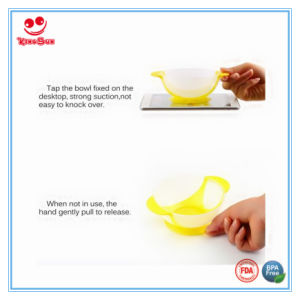 Best Selling Baby Suction Bowls with Temperature Sensing Spoon pictures & photos
