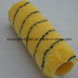 """Best Quality 9"""" 100% Acrylic Tiger Paint Roller with 9"""" *5 Wire Roller Handle pictures & photos"""
