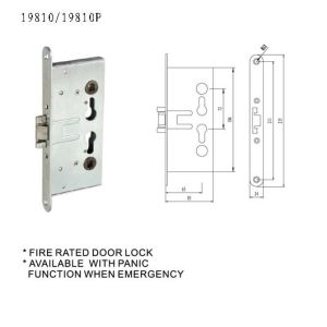 German Fire Proof Lock Body pictures & photos