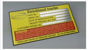 Permanent Adhesive Metal Label Custom Metal Brand Logo Labels pictures & photos