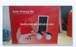 Portable Solar System, Solar Lighting Kit with Complete Parts pictures & photos