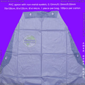 Disposable Water-Repellent PVC Apron pictures & photos