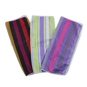 Colored Stripes Microfiber Cleaning Cloth (JL-172)