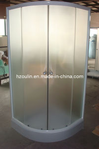 Shower Room with White Aluminum (E-01White) pictures & photos