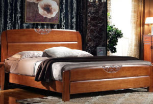Solid Wooden Bed Modern Beds (M-X2236) pictures & photos