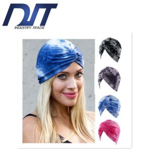 Dyed Stretch Cotton Indian Style Lady Cap with Custom Logo