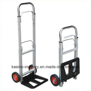 Hot Sales Aluminum Folding Hand Truck Ht1105 (High quality&Competitive price) pictures & photos