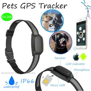 Mini IP66 Waterproof Pets GPS Tracker with Real Time Tracking (EV200) pictures & photos
