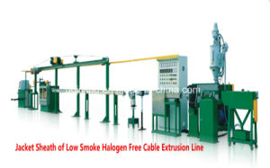 Jacket Sheath Cable Extrusion Line for Bulding Cable pictures & photos