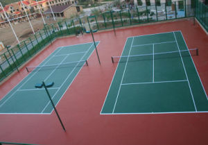 Weather Resistant Outdoor Tennis Court Surface Tennis Floor pictures & photos