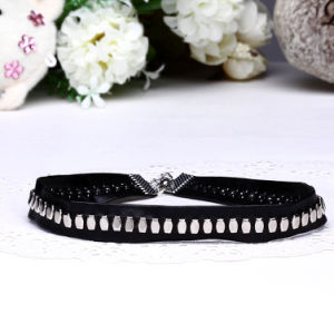 Silver Plated Handmade Punk Style Choker Necklace Fashion Jewelry pictures & photos