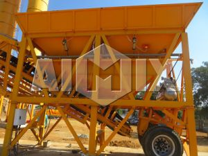 35m3/H Mobile Concrete Mixing Batch Plant, Movable Concrete Mixing Plant pictures & photos
