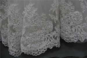 off Shoulder Lace Beading Bridal Wedding Dress 2017 pictures & photos