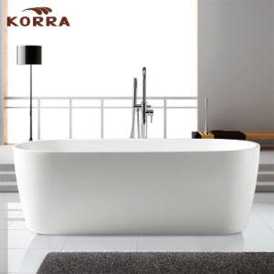 Simple Freestanding Acrylic Bathtub K1594 pictures & photos