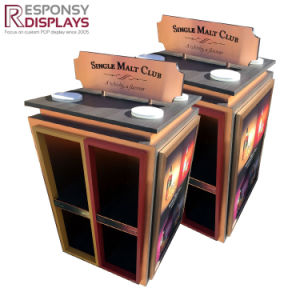 Floor Bar Club Wine Box Case with Poster pictures & photos