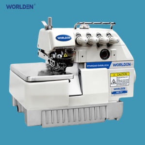 Wd-747 Four Thread Overlock Industrial Sewing Machine pictures & photos
