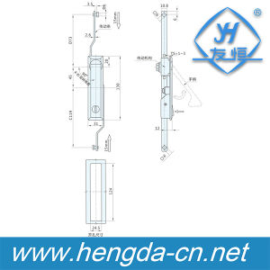 Rod Control Lock/Panel Lock/Swing Handle Lock (YH8003) pictures & photos