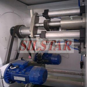 Star Seal Garbage Bag Making Machine Double Lines pictures & photos