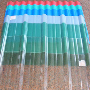 100% Bayer Solid Corrugated Polycarbonate Sheet for Bus Station pictures & photos