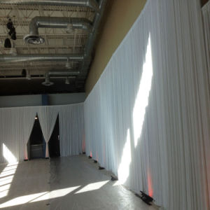 Telescopic Pipe and Drape Wedding Party Event Backdrop Decoration pictures & photos