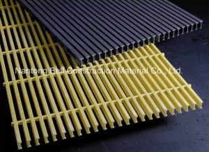 FRP/GRP Pultruded Gratings, Fibreglass T-5020 Grating, Plastic Pultruded Grating. pictures & photos