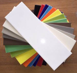 """4""""X16"""" Waterproof White Glossy Subway Tile for Bathroom and Kitchen Wall pictures & photos"""