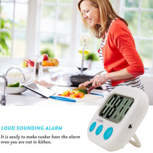 Wholesale High Quality Kitchen Timer with Countdown Function LCD Electronic Timer pictures & photos