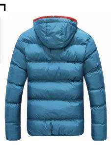 Cheap Winter Windproof Mens Down Jackets Men′s Winter Warm Collar Coat pictures & photos