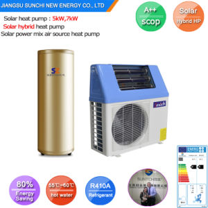 Save 80% Power Cop5.32 220V 5kw, 7kw, 9kw Heat Pump pictures & photos