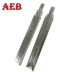 Shenzhen Factory 51mm Push Opening Ball Bearing Slides 3-Folds Pull out Drawer Slides pictures & photos