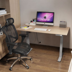 Sit Stand Computer Desk with Height Ajustment for Home Furniture Use pictures & photos