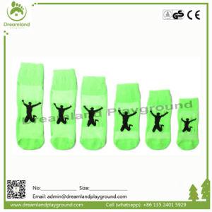 Indoor Trampoline Park Custom Grip Socks Manufacturer pictures & photos