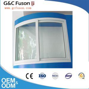 White Color Double Glazed Aluminium Horizontal Sliding Window pictures & photos