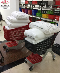 Top Quality Supermarket Use Hand Shopping Cart pictures & photos
