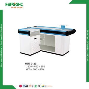 Supermarket Store Automatic Cashier Counter with Belt pictures & photos
