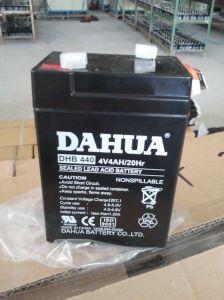 6V 4ah VRLA Sealed Lead Acid Maintenance Free UPS Battery pictures & photos