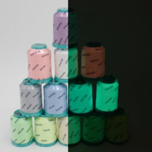 120d/2 100% Polyester Luminous Embroidery Thread with Oeko-Tex Grade 1 pictures & photos
