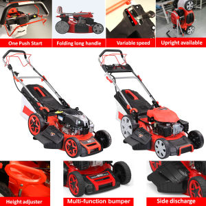 Newest 20 Inch Electric Start Self-Propelled Lawn Mower pictures & photos