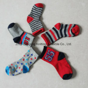 5 Pairs Pack Baby Socks Kids Socks for Child Boys Girl pictures & photos