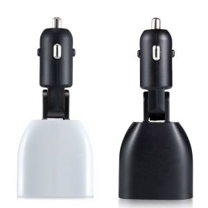 QC3.0 LED Display Double USB Ports Car Charger with Approvals pictures & photos