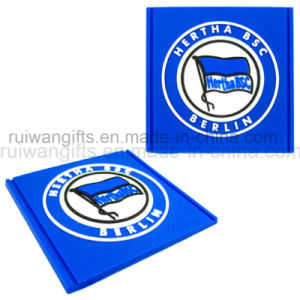 Embossed 3D PVC Label for Garments Rubber Patch, Patch with Velcro pictures & photos