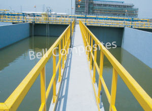 Fiberglass (FRP) Fence and Railings, Glassfiber Handrail, GRP Handrailing. pictures & photos
