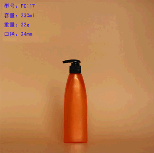 230ml Pet Plastic Lotion Pump Bottle, Body Butter/Shampoo Bottle pictures & photos